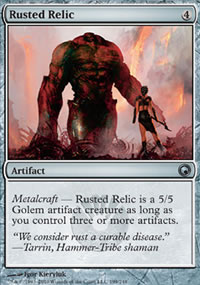 Rusted Relic - Scars of Mirrodin