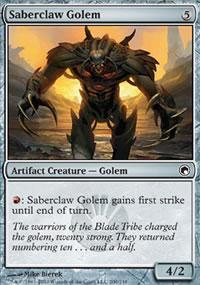 Saberclaw Golem - Scars of Mirrodin