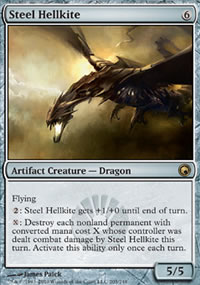 Steel Hellkite - Scars of Mirrodin