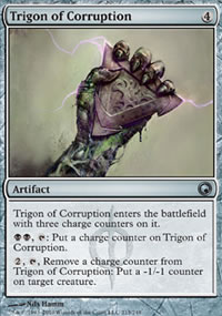 Trigon of Corruption - Scars of Mirrodin