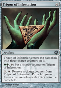 Trigon of Infestation - Scars of Mirrodin