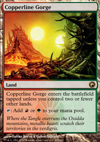 Copperline Gorge - Scars of Mirrodin
