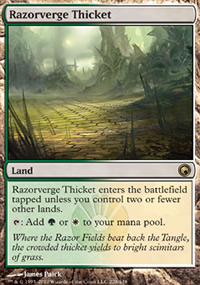 Razorverge Thicket - Scars of Mirrodin