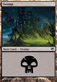 Swamp 1 - Scars of Mirrodin