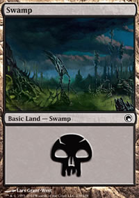 Swamp 2 - Scars of Mirrodin