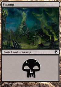 Swamp 3 - Scars of Mirrodin