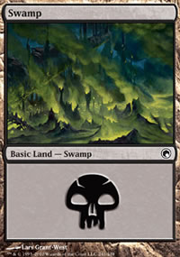 Swamp 4 - Scars of Mirrodin