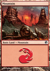 Mountain 1 - Scars of Mirrodin
