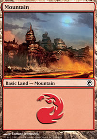 Mountain 2 - Scars of Mirrodin