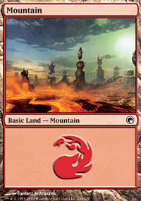 Mountain 3 - Scars of Mirrodin