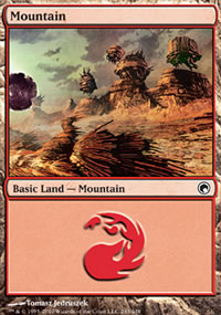Mountain 4 - Scars of Mirrodin