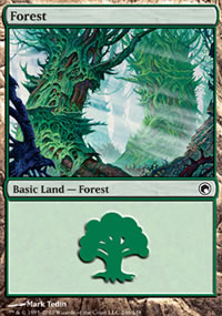 Forest 1 - Scars of Mirrodin