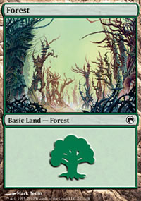 Forest 2 - Scars of Mirrodin