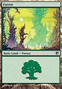 Forest 3 - Scars of Mirrodin
