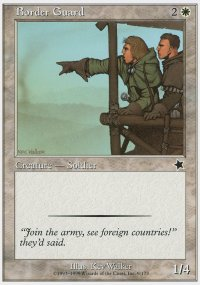 Border Guard - Starter