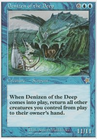 Denizen of the Deep - Starter