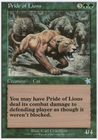 Pride of Lions - Starter