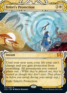 Teferi's Protection 1 - Strixhaven Mystical Archive