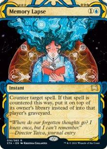 Memory Lapse 1 - Strixhaven Mystical Archive