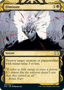 Eliminate 1 - Strixhaven Mystical Archive