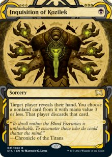 Inquisition of Kozilek 1 - Strixhaven Mystical Archive