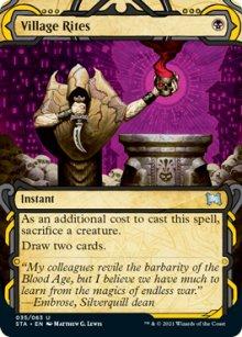 Village Rites 1 - Strixhaven Mystical Archive