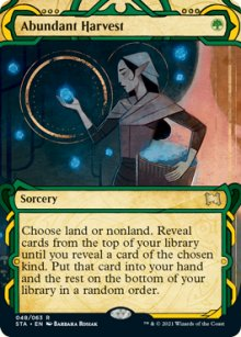 Abundant Harvest 1 - Strixhaven Mystical Archive