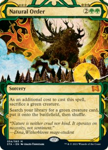 Natural Order 1 - Strixhaven Mystical Archive