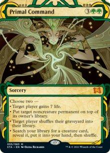 Primal Command 1 - Strixhaven Mystical Archive