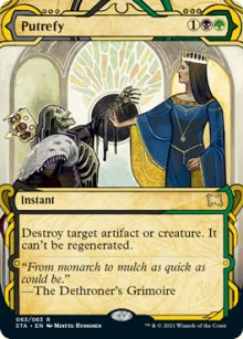 Putrefy 1 - Strixhaven Mystical Archive