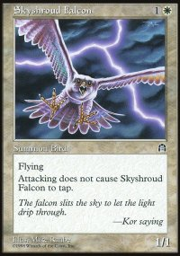 Skyshroud Falcon - Stronghold
