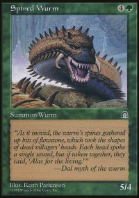 Spined Wurm - Stronghold