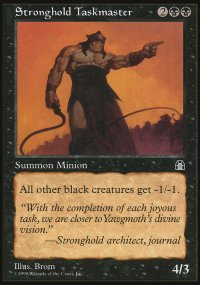 Stronghold Taskmaster - Stronghold