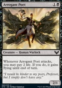 Arrogant Poet - Strixhaven School of Mages