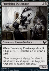 Promising Duskmage - Strixhaven School of Mages