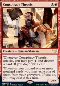 Conspiracy Theorist 1 - Strixhaven School of Mages