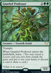 Gnarled Professor 1 - Strixhaven School of Mages
