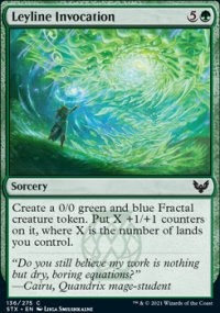 Leyline Invocation - Strixhaven School of Mages