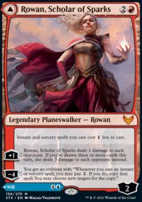 Rowan, Scholar of Sparks 1 - Strixhaven School of Mages