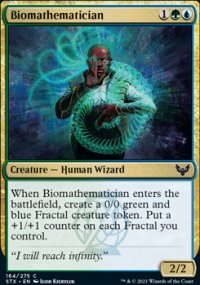 Biomathematician - Strixhaven School of Mages