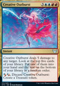 Creative Outburst - Strixhaven School of Mages
