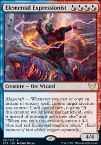 Elemental Expressionist 1 - Strixhaven School of Mages