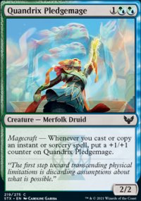 Quandrix Pledgemage - Strixhaven School of Mages