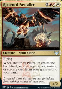 Returned Pastcaller - Strixhaven School of Mages