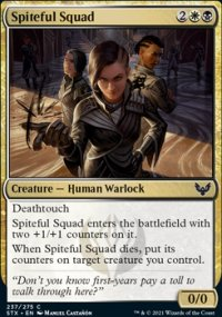 Spiteful Squad - Strixhaven School of Mages