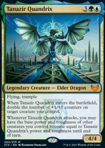 Tanazir Quandrix 1 - Strixhaven School of Mages