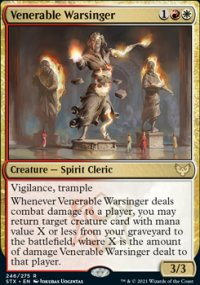 Venerable Warsinger 1 - Strixhaven School of Mages