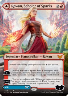 Rowan, Scholar of Sparks 2 - Strixhaven School of Mages
