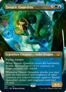 Tanazir Quandrix 2 - Strixhaven School of Mages