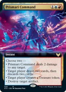 Prismari Command 2 - Strixhaven School of Mages